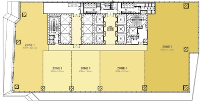 Sky Zone Floor Plan (Multi-Tenant)