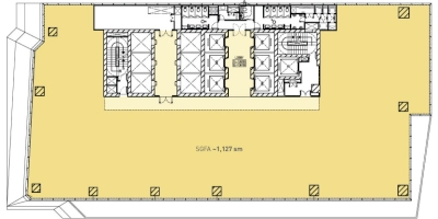Sky Zone Floor Plan (Single Tenant)
